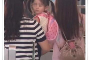 郭富城携全家出游2岁女儿呆萌心爱网友目光却都在年青岳母上