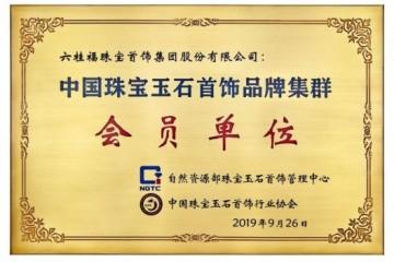 六桂福珠宝入选中国珠宝玉石首饰品牌集群首批会员单位