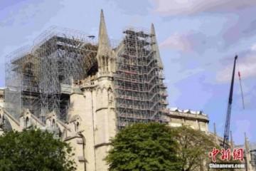 再度点亮!巴黎圣母院火灾7个月后康复夜间照明